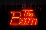 The Barn, bar, neon sign. . Eagles Mere, PA, Sullivan County