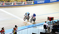 Picture by SWpix.com - 01/03/2018 - Cycling - 2018 UCI Track Cycling World Championships, Day 2 - Omnisport, Apeldoorn, Netherlands - Katy Marchant of Great Britain Women's 500m Sprint 1/16 Finals