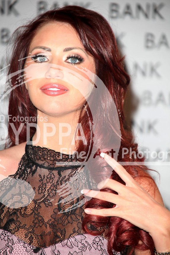 Former TOWIE star heads to the 'motherland' for a signing to celebrate her<br /> clothing collection being stocked in BANK stores. Lakeside, Essex. 8th June 2013