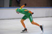 SCHAATSEN: DEVENTER: IJsbaan De Scheg, 27-10-12, IJsselcup, Bob de Vries, ©foto Martin de Jong