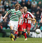 Paddy McCourt dazzles on the wing