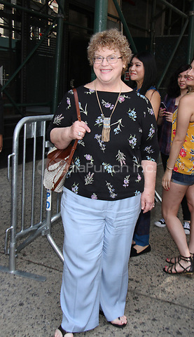 NEW YORK, NY July 17, 2017   Charlaine Harris at AOL BUILD to talk about new NBC series MidNight Texas in New York July 17, 2017. Credit:RW/MediaPunch