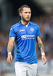 St Johnstone v FC Luzern...24.07.14  Europa League 2nd Round Qualifier<br /> Stevie May<br /> Picture by Graeme Hart.<br /> Copyright Perthshire Picture Agency<br /> Tel: 01738 623350  Mobile: 07990 594431