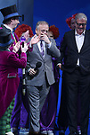 Christian Borle, Marc Shaiman and Scott Wittman during the Broadway Opening Performance Curtain Call of 'Charlie and the Chocolate Factory' at the Lunt-Fontanne Theatre on April 23, 2017 in New York City.
