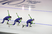 SPEEDSKATING: CALGARY: 12-11-2015, Olympic Oval, training, ©foto Martin de Jong