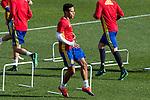 Spainsh Thiago Alcantara during the training of the spanish national football team in the city of football of Las Rozas in Madrid, Spain. November 09, 2016. (ALTERPHOTOS/Rodrigo Jimenez)