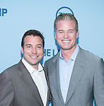 WASHINGTON, DC - JUNE 4: Writer Hank Steinberg and actor Eric Dane attends The Last Ship premiere screening, a partnership between TNT and the U.S. Navy on June 4, 2014 in Washington, D.C. Photo Credit: Morris Melvin / Retna Ltd.