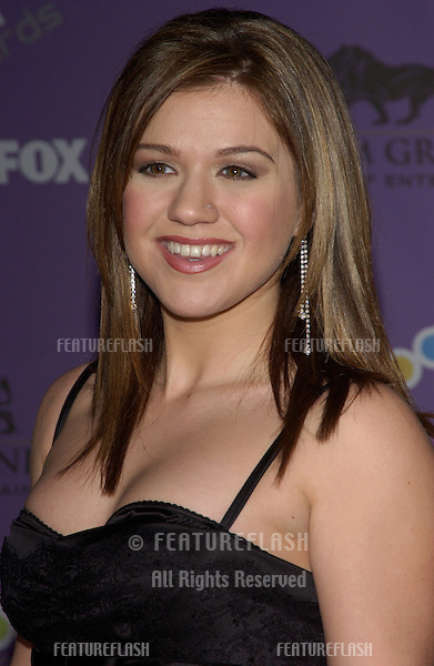 KELLY CLARKSON at the 2003 Billboard Music Awards at the MGM Grand, Las Vegas..December 10, 2003