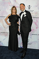 05 June 2019 - New York, New York - Carine Roitfeld and Frederick Pignault. 2019 Fragrance Foundation Awards held at the David H. Koch Theater at Lincoln Center.    <br /> CAP/ADM/LJ<br /> ©LJ/ADM/Capital Pictures