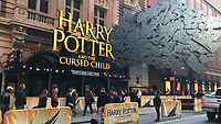 Harry Potter and the cursed child im Lyric Theatre am Broadway in New York - 11.04.2018: Sightseeing in New York