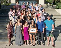 Alumni Reunion Weekend, class group photos - class of 2004