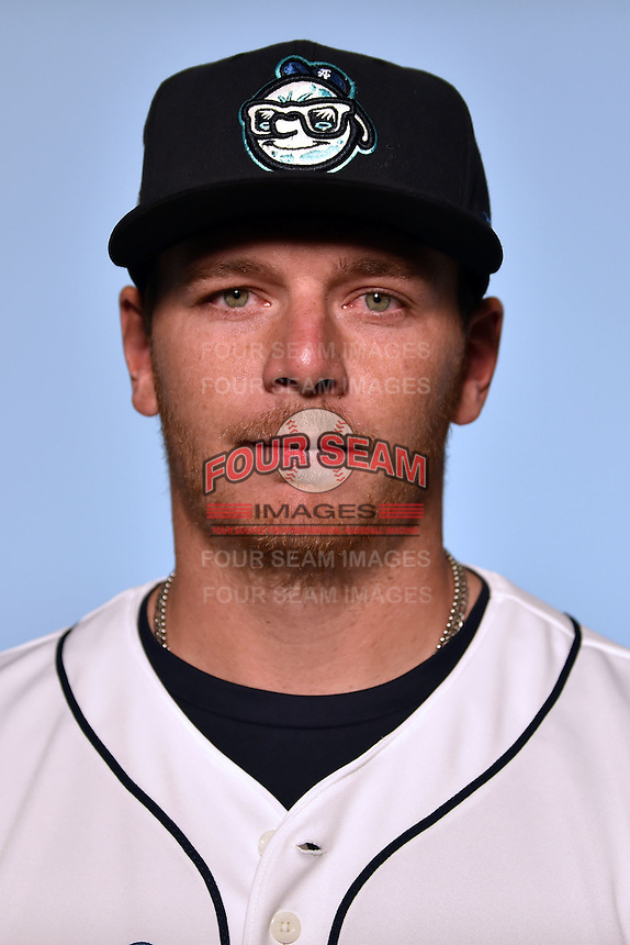 Asheville Tourists pitcher James Lomangino (36) on April 7, 2015 in Asheville, North Carolina. (Tony Farlow/Four Seam Images)
