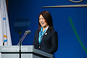 Mami Sato, <br /> SEPTEMBER 7, 2013 : <br /> Paralympian Mami Sato speaks during the 2020 Summer Olympic Games bid fianl presentation during the 125th International Olympic Committee (IOC) session in Buenos Aires Argentina, on Saturday September 7, 2013. <br /> (Photo by YUTAKA/AFLO SPORT) [1040]