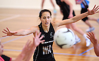 Silver Fern's Courtney Tairi at training for the New World Netball Series match, Wallacetown Stadium, Invercargill, New Zealand, Saturday, September 14, 2013. ©MBPHOTO/Dianne Manson Michael Bradley Photography
