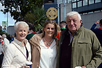 17-1-2017: Cathy O'Callaghan from Killarney with her parents Ann and Christy Lucey at the All-Ireland Football final at Croke Park on Sunday.<br /> Photo: Don MacMonagle