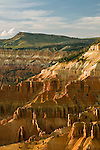 View of Cedar Breaks Amphitheater from the Ramparts Overlook Trail in Cedar Breaks National Monument, Utah
