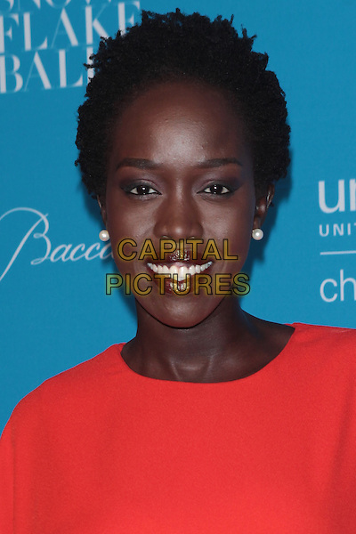 NEW YORK, NY - DECEMBER 1: Kuoth Wiel at the 11th Annual UNICEF Snowflake Ball at Cipriani, Wall Street on December 1, 2015 in New York City.  <br /> CAP/MPI99<br /> &copy;MPI99/Capital Pictures