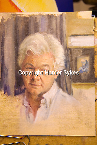 Homer Sykes. Version 4. Photo taken in artificial light with yellow cast. It will be finished.