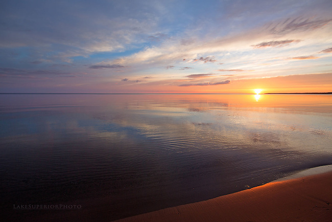 Solstice Sunrise, Lake Superior
