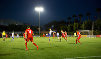 Carson, CA - July 14, 2016: The FC Dallas U-17/18 defeat Nomads SC U-17/18 2-1 in a 2016 U.S. Soccer Development Academy Semi Final game at StubHub Center.