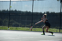 Stevenson women's tennis hosted Franciscan at home on the Greenspring campus.