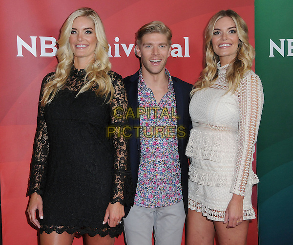 17 January 2017 - Pasadena, California - Ashley Wirkus, Kyle Cooke, Lauren Wirkus. 2017 NBCUniversal Winter Press Tour held at the Langham Huntington Hotel. <br /> CAP/ADM/BT<br /> &copy;BT/ADM/Capital Pictures