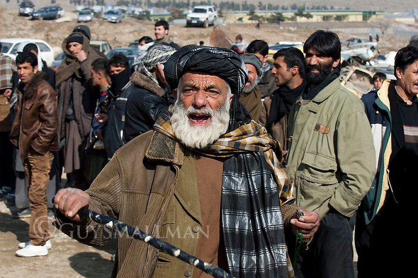 Dogfighting is a popular Afghan leisure pursuit which takes place on Fridays in Kabul and other major cities. It was banned by the Taliban but has returned since 2001.