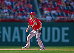 7 September 2014: Washington Nationals outfielder Bryce Harper in action against the Philadelphia Phillies at Nationals Park in Washington, DC. The Nationals defeated the Phillies 3-2 to salvage the final game of their 3-game series. Mandatory Credit: Ed Wolfstein Photo *** RAW (NEF) Image File Available ***