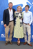Liev Schreiber, Naomi Watts, Philippe Falardeau attends a photocall for 'The Bleeder' during the 73rd Venice Film Festival at Palazzo del Casino on September 2, 2016 in Venice, Italy.<br /> CAP/GOL<br /> &copy;GOL/Capital Pictures /MediaPunch ***NORTH AND SOUTH AMERICAS ONLY***
