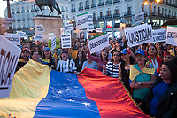 2019 04 30 Venezuelans living in Madrid at Puerta del Sol