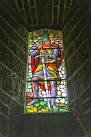 Scotland William Wallace Monument Stained Glass