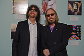 "Jeff Lynne of ELO and Tom Petty photographed at the premiere screening of the documentary film ""Mr. Blue Sky"" at The Grammy Museum in Los Angeles, CA on September 12, 2012.  Photo © Kevin Estrada /  Iconic Pix"
