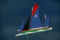 Europe/France/Pays de la Loire/85/Vendée/Ile d'Yeu/Saint-Sauveur: Girouette