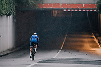Philippe Gilbert (BEL/Quick Step floors) returning through a tunnel to the team buses after finishing the opening TT<br /> <br /> 104th Tour de France 2017<br /> Stage 1 (ITT) - D&uuml;sseldorf &rsaquo; D&uuml;sseldorf (14km)