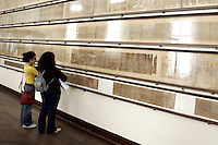Il Libro dei Morti nel Museo Egizio di Torino.<br /> The Book of the Dead in the Egyptian Museum of Turin.<br /> UPDATE IMAGES PRESS/Riccardo De Luca