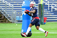 June 7, 2017: New England Patriots cornerback Cyrus Jones (41) works on a drill at the New England Patriots mini camp held on the practice field at Gillette Stadium, in Foxborough, Massachusetts. Eric Canha/CSM