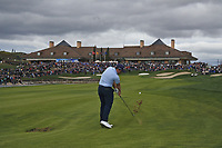 Paul Dunne (IRL) on the 18th fairway during Round 4 of the Open de Espana 2018 at Centro Nacional de Golf on Sunday 15th April 2018.<br /> Picture:  Thos Caffrey / www.golffile.ie<br /> <br /> All photo usage must carry mandatory copyright credit (&copy; Golffile | Thos Caffrey)