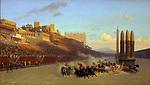 The Circus Maximus. Artist: Gerôme, Jean-Léon (1824-1904)