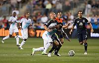 Michael Essien, Aurelien Collin.  The MLS All-Stars defeated Chelsea, 3-2.