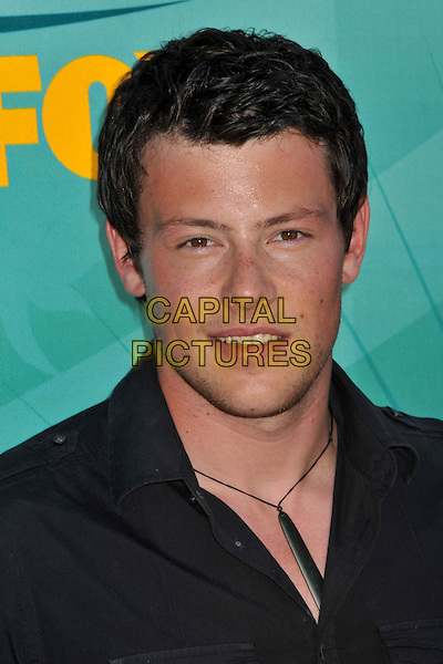 13 July 2013 - Vancouver, British Colombia, Canada - Glee star Cory Monteith was found dead Saturday in his hotel room at the Fairmont Pacific Rim Hotel in Vancouver. He was 31. The cause of death was not immediately apparent. An autopsy was set for Monday. According to police, there were no indications of foul play. They would not discuss what, if anything, was found in room. File Photo: 09 August 2009 - Universal City, CA - Cory Monteith. Teen Choice Awards 2009 - Arrivals held at the Gibson Amphitheatre. <br /> CAP/ADM/BP<br /> &copy;Byron Purvis/AdMedia/Capital Pictures