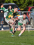 Duleek Bellewstown Jason Brannigan St Patrick's Neil O'Flaherty. Photo:Colin Bell/pressphotos.ie
