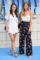 "Emily Blackwell and Frankie Gaff<br /> arriving for the ""Mama Mia! Here We Go Again"" World premiere at the Eventim Apollo, Hammersmith, London<br /> <br /> ©Ash Knotek  D3415  16/07/2018"