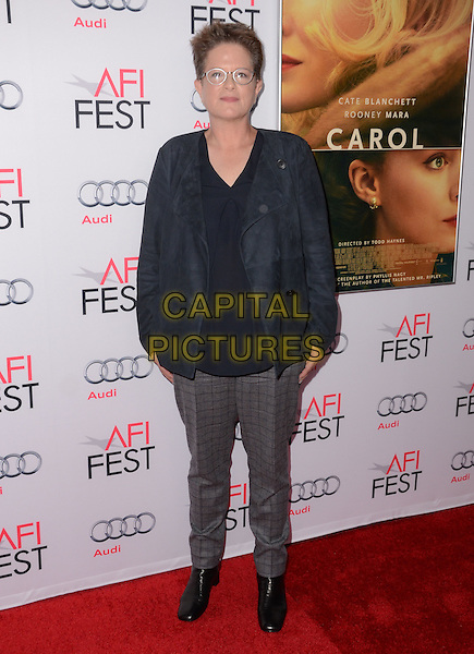07 November - Hollywood, Ca - Phyllis Nagy. AFI Fest 2015 special screening of &quot;Carol&quot; held The Egyptian Theater. <br /> CAP/ADM/BT<br /> &copy;BT/ADM/Capital Pictures