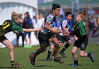 Action from the AIMS sevens at Bay Park in Mount Maunganui, New Zealand on Thursday, 13 September 2018. Photo: Dave Lintott / lintottphoto.co.nz