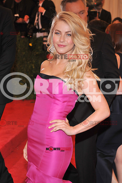 Julianne Hough at the 'Schiaparelli And Prada: Impossible Conversations' Costume Institute Gala at the Metropolitan Museum of Art on May 7, 2012 in New York City. © mpi03/MediaPunch Inc.