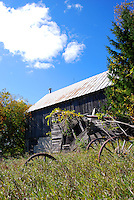 Old barn in Door County