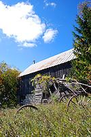 Old barn in Door County