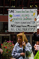 Rally to Save Starved Rock from Frac Sand Mining