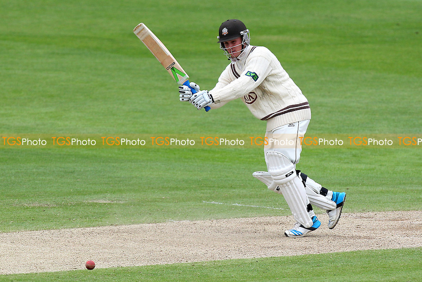 Jason Roy in batting action for Surrey - Essex CCC vs Surrey CCC - LV County Championship Division Two Cricket at the Essex County Ground, Chelmsford, Essex - 26/05/14 - MANDATORY CREDIT: Gavin Ellis/TGSPHOTO - Self billing applies where appropriate - 0845 094 6026 - contact@tgsphoto.co.uk - NO UNPAID USE