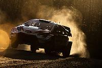 13th February 2020, Torsby base and Karlstad, Värmland County, Sweden; WRC Rally of Sweden, Shakedown event;  Kalle Rovanpera (FIN) - Jonne Halttunen (FIN) - Toyota Yaris WRC -